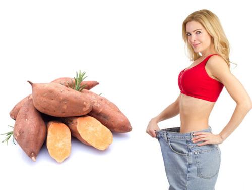 Cách giảm béo bằng khoai lang