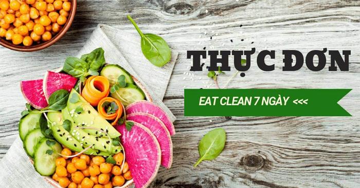 Thực Đơn Eat Clean