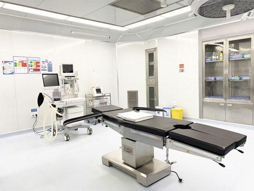 Phòng phẫu thuật tân tiến nhất